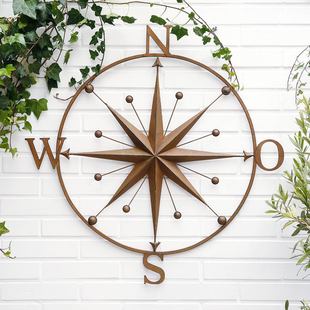 Gärtner Pötschke Wandbild Kompass