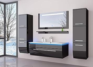 Badmobel Set Badezimmermobel Komplett Set Waschbeckenschrank Mit