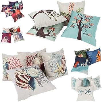 Amazon.com: Funda de almohada cojin cojines Pad Estampado ...