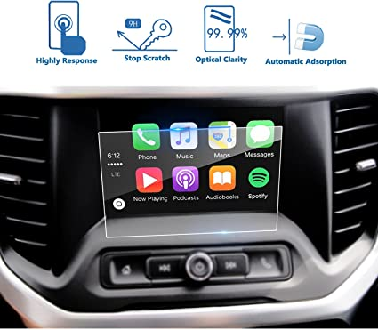 Amazon Com Lfotpp Car Navigation Screen Protector Compatible For 2017 2019 Gmc Acadia 7 Inch Intellilink Clear Tempered Glass Infotainment Display In Dash Center Touch Screen Protector 7 Inch