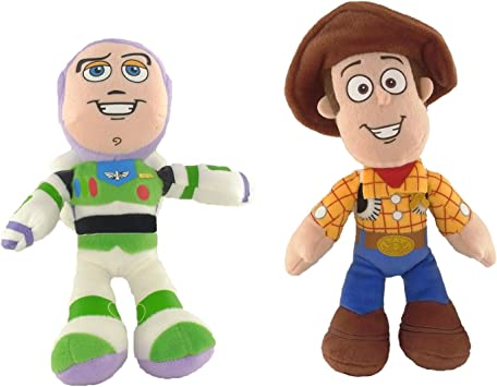 Toy Story Disney Pixar pack de 2 peluches Buzz Lightyear 25 cm y ...