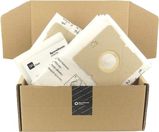 SpareHome® 10 Bolsas de alto rendimiento para aspiradores Nilfisk Bravo: Amazon.es: Hogar