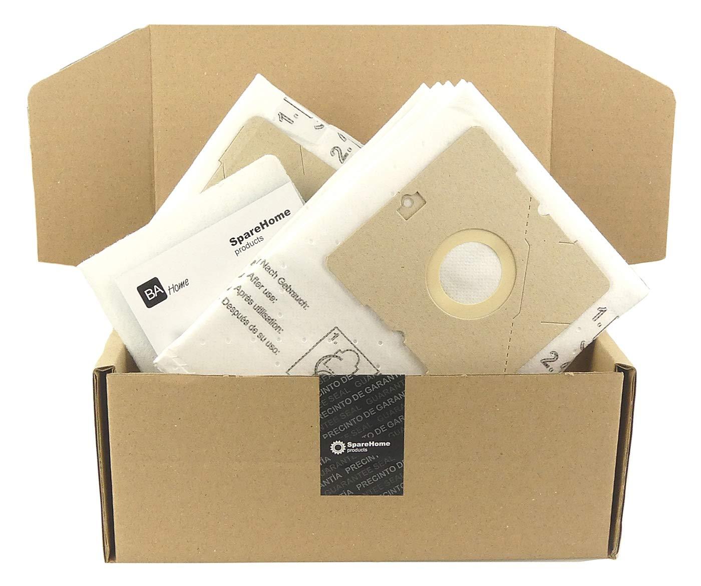 SpareHome® 10 Bolsas de alto rendimiento + 2 microfiltros ...