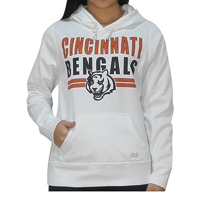 Womens CIN Bengals Athletic Warm Pullover Hoodie / Sweatshirt