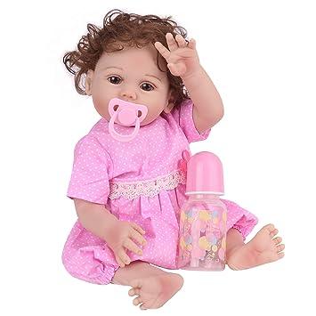 Amazon.com: CHAREX Muñecas de bebé reborn de silicona de ...