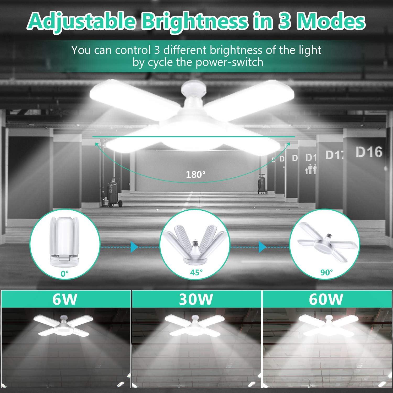 Free Amazon Promo Code 2020 for 2-Pack LED Garage Lights