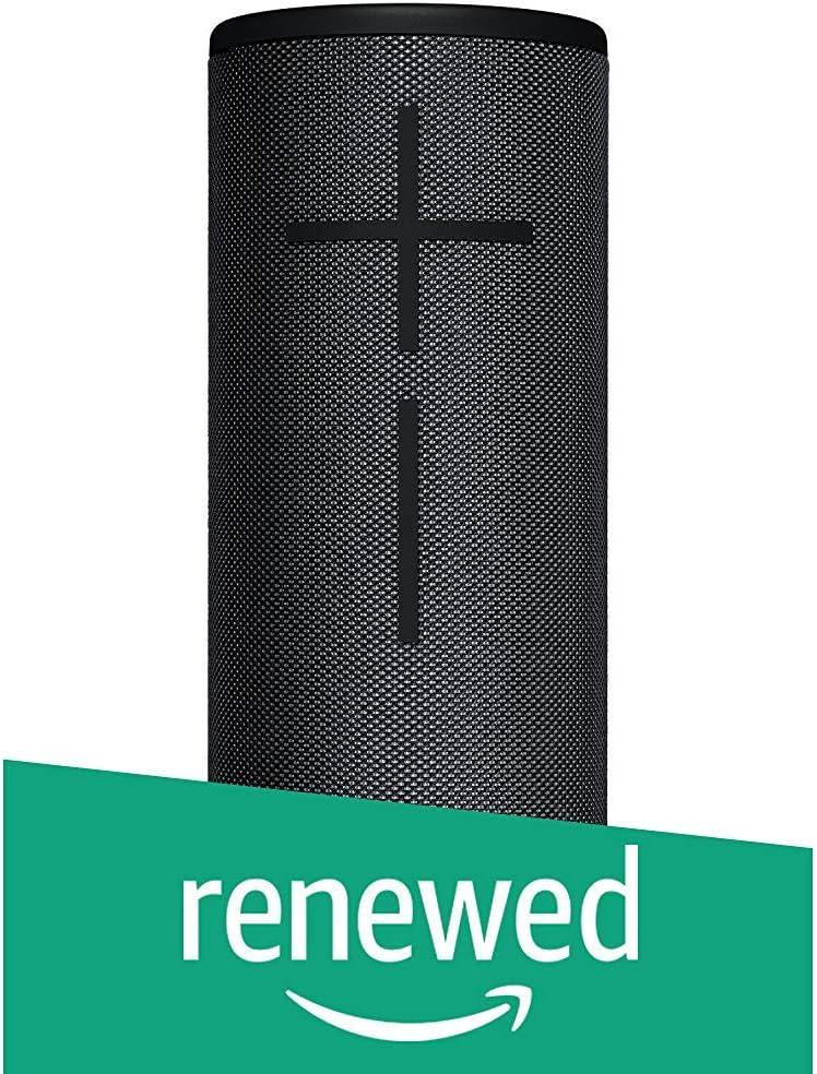 Ultimate Ears BOOM 3 Portable Bluetooth Wireless Speaker (Waterproof) - Night Black (Renewed)