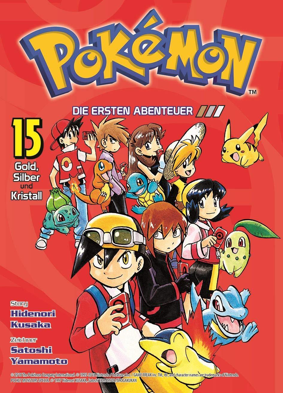 Pokémon - Die ersten Abenteuer: Bd. 15: Gold, Silber und Kristall Taschenbuch – 27. August 2018 Hidenori Kusaka Satoshi Yamamoto Gyo Araiwa Panini