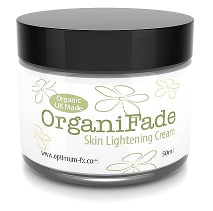 OrganiFade Crema Blanqueadora Para La Piel Reino Unido Hecho Con Ingredientes Naturales y Orgánicos 50 ml