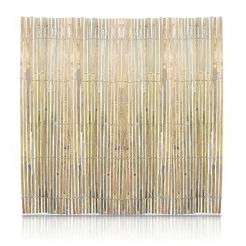 sichtschutz bambus 4 x 1 m