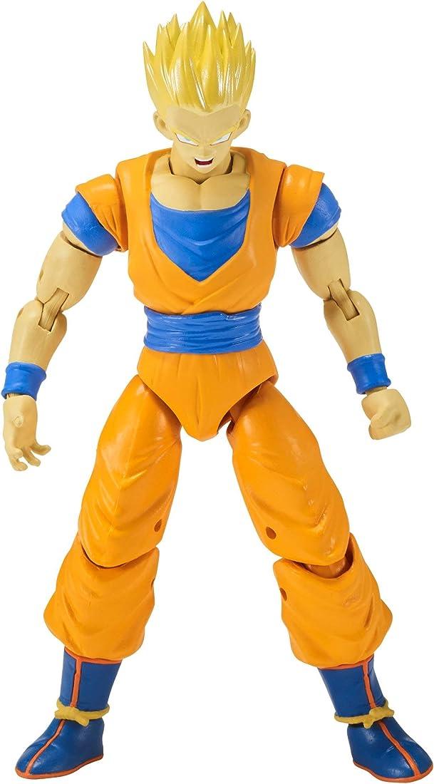 Statuetta dragon ball stars action figure bandai - super saiyan gohan  17 cm 35996