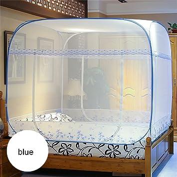 Moskitonetz-Bett-Überdachungs-Zelt-Vorhänge für Betten ...