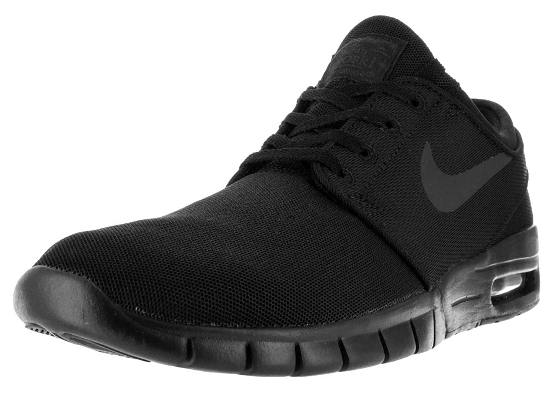 Nike Men's Stefan Janoski Max Black/Black/Anthracite/Black Sneakers - 11.5 D