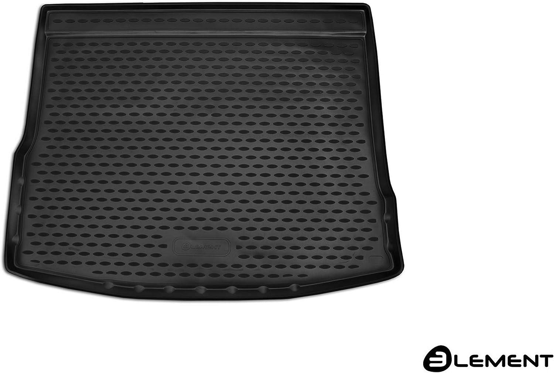 Fir Element EXP.ELEMENT5154B13 Custom Tailored Fit Black Rubber Boot Liner Mat VW Tiguan SUV 2017