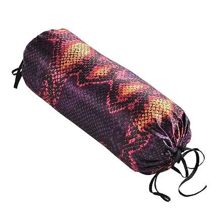Amazon.com: Hugger Mugger Yoga de seda almohada de cuello ...