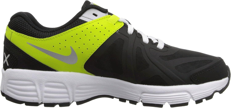 Nike Kids Boys Air Max Run Lite 5 Black//Venom Green//Metallic Silver 5 Big Kid M Big Kid