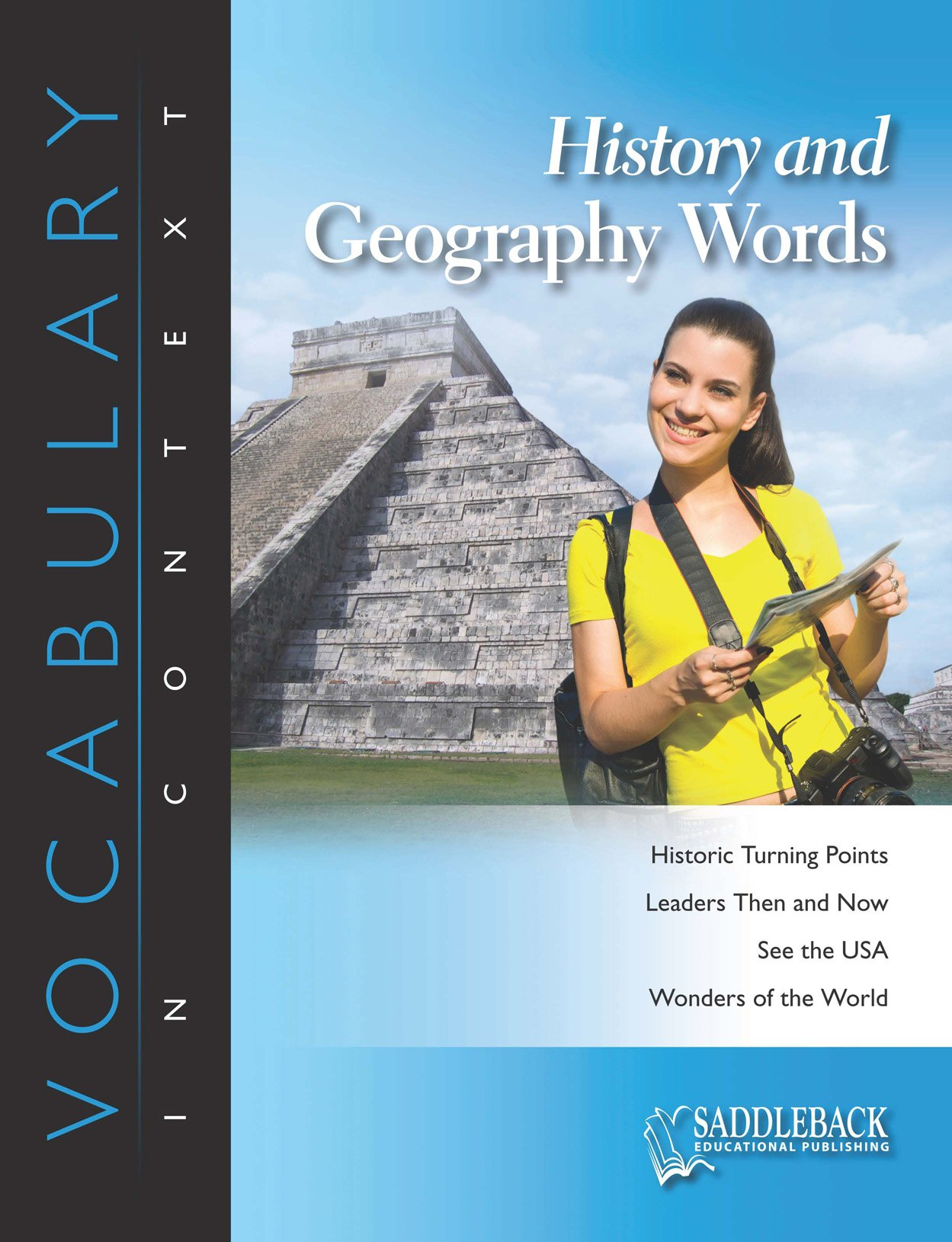 Read Online History and Geography Enhanced (Vocabulary in Context (Saddleback Educational)) pdf