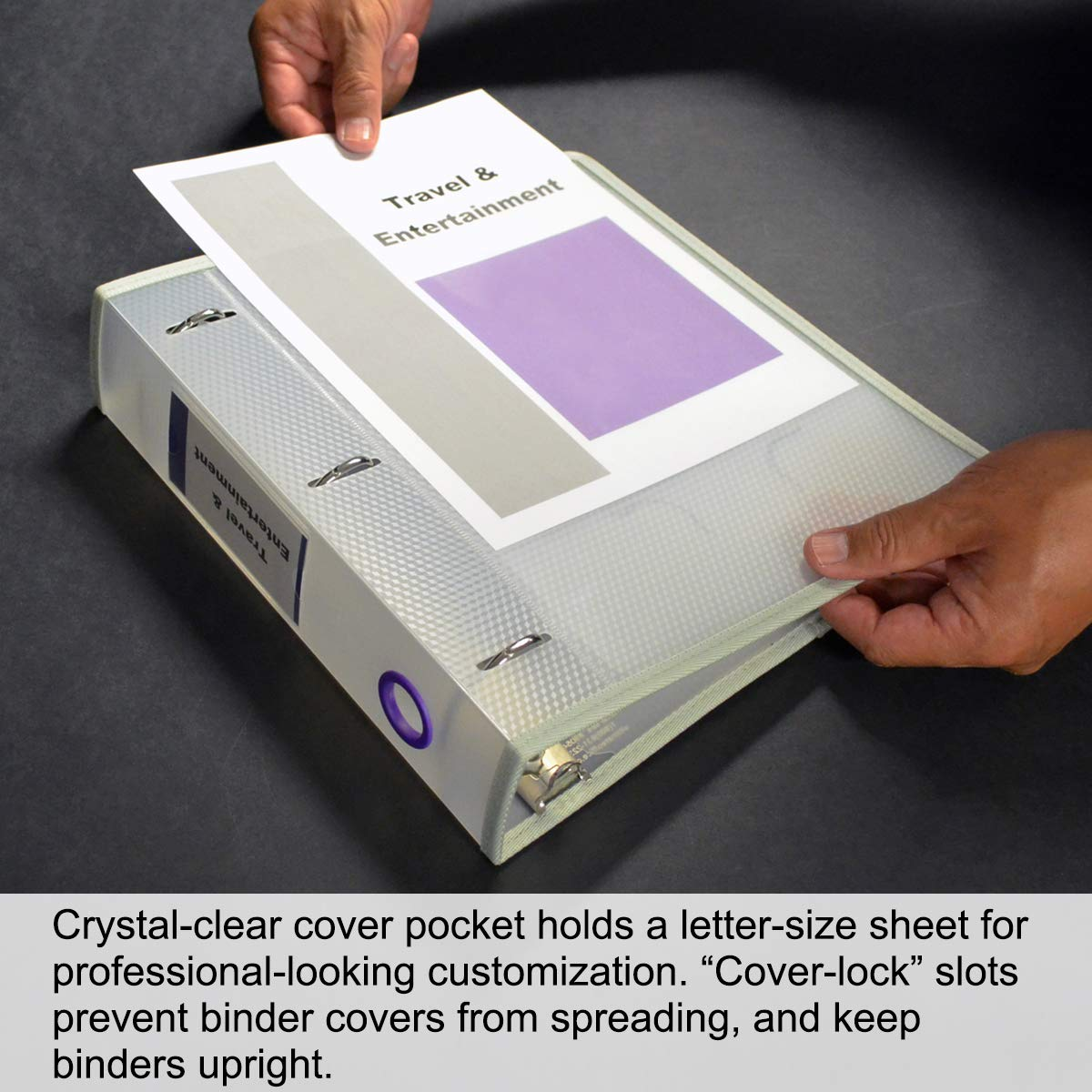 Binders Office Products ghdonat.com 6 Color Rings with Matching ...