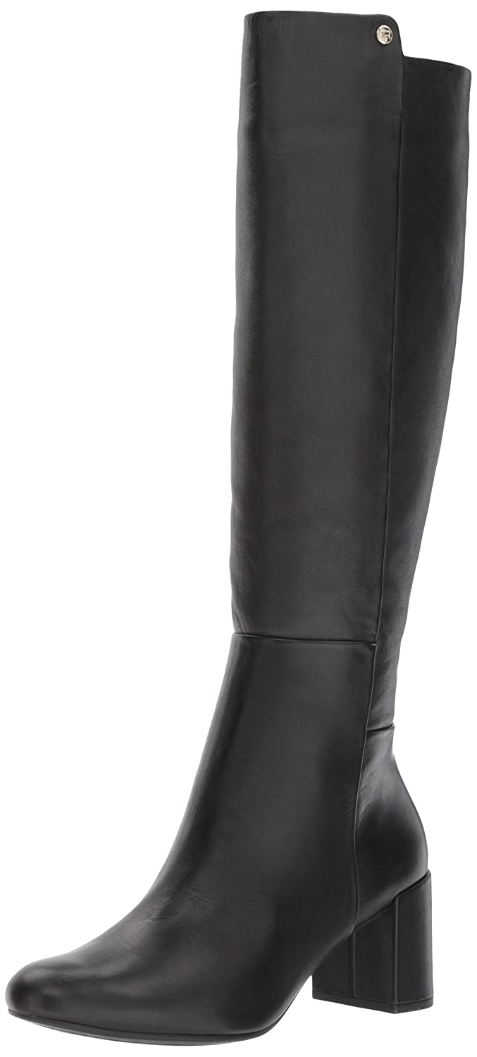 Taryn Rose Women's Carolyn Silky Cow Fashion Boot B072MT5MHT 9 M Medium US|Black