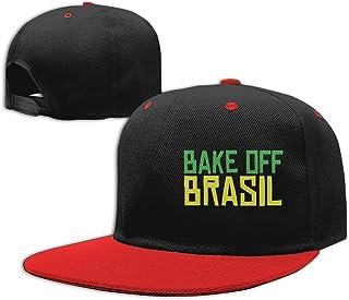 Bake Off Brasil Classic Flat Bill Baseball Caps Men and Women Trucker Cap