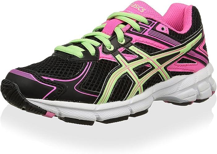 Asics Zapatillas Deportivas Running Gt-1000 2 GS Negro/Verde EU 38 (US 5.5): Amazon.es: Zapatos y complementos
