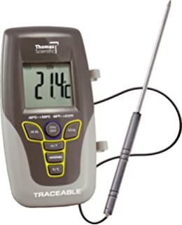 thomas traceable long stem digital thermometer with 3 8 high lcd