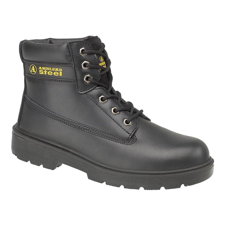 Amblers FS112 S1-P Damen Stiefel Sicherheitsschuhe / Arbeitsstiefel / Stiefel Damen Schwarz c515e1