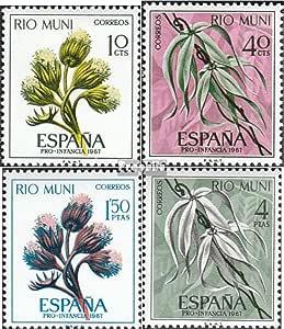 Prophila Collection Río Muni Michel.-No..: 76-79 (Completa.edición ...