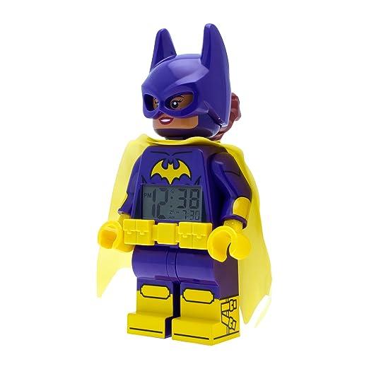 Lego Batman Movie Batgirl Reloj despertador infantil niña Digital ule9009334: LEGO: Amazon.es: Relojes