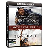 Deals on Gladiator/Braveheart 2-Movie Collection 4K Digital