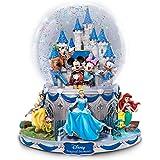disney walt disney world cinderella castle musical snowglobe new