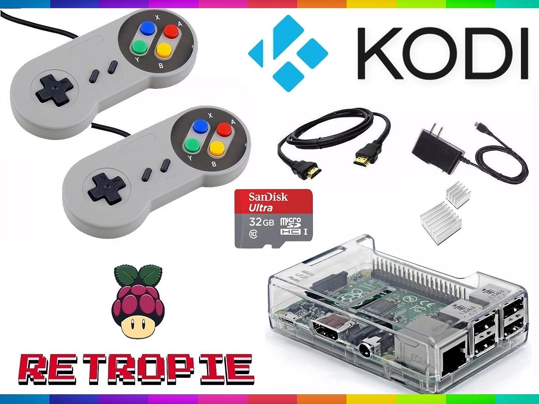 Raspberry Pi 3 with RetroPie & Kodi - Ultimate Emulation