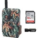 Browning Defender Wireless Pro Scout Cellular Trail Game Camera (Verizon) Bundle Includes 32GB Memory Card and J-TECH Card Re