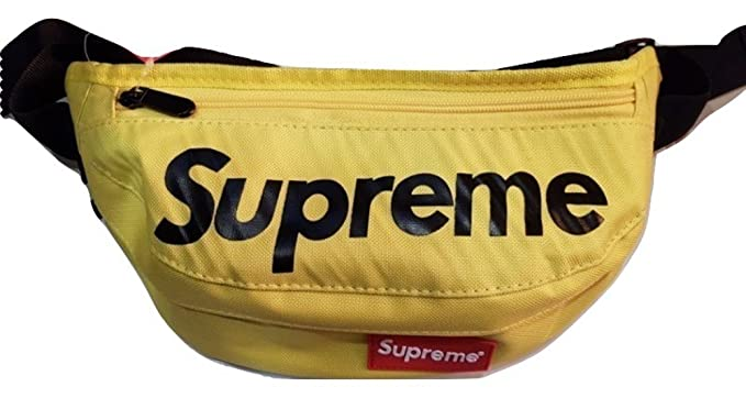 f1a906348a8 Supreme Fanny Bag Pack Waist Shoulder Style Classic Box Logo (Yellow ...
