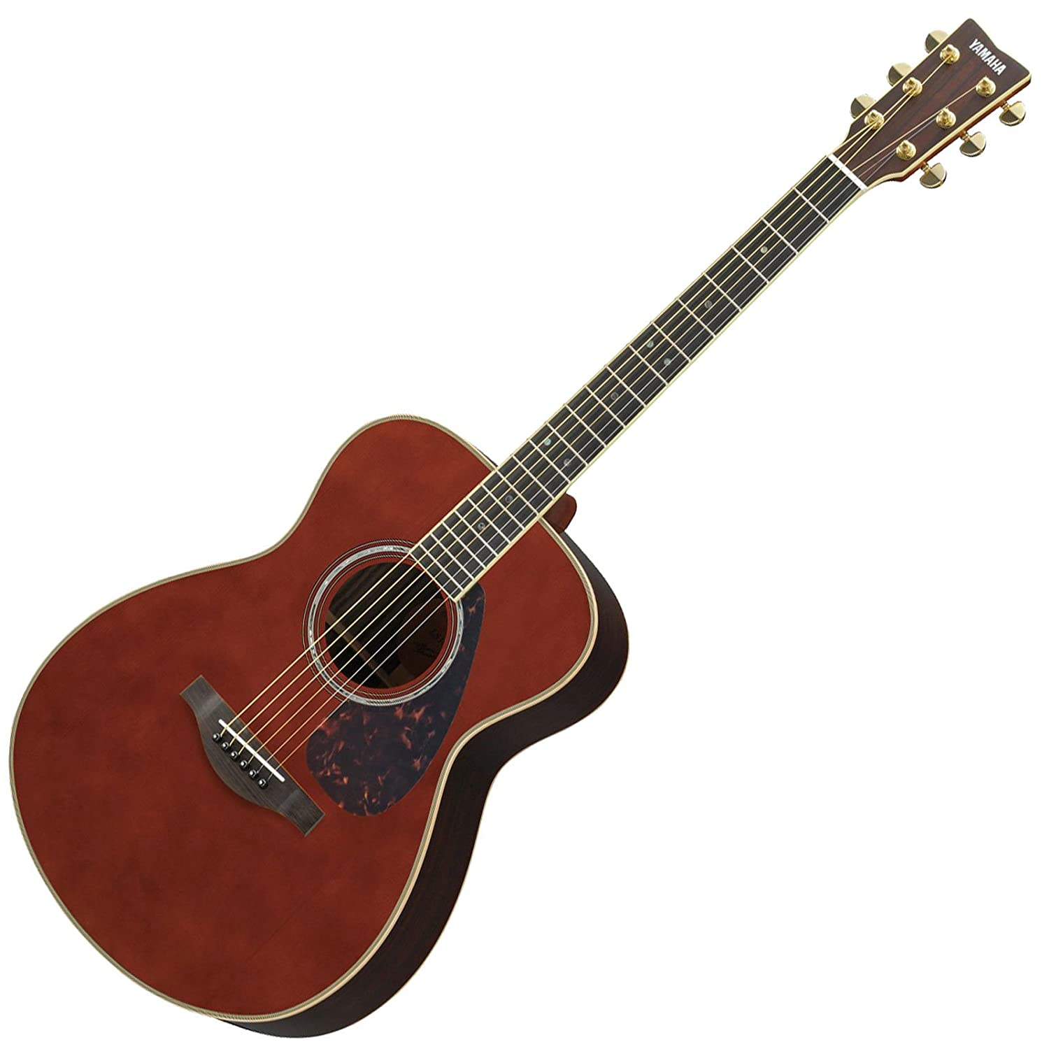 Amazon.com: Yamaha L-Series LS16 LS16 Concert Size Acoustic-Electric Guitar with Gig Bag - Dark Tinted: Musical Instruments