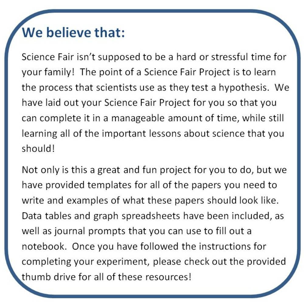 science fair project template science project timeline