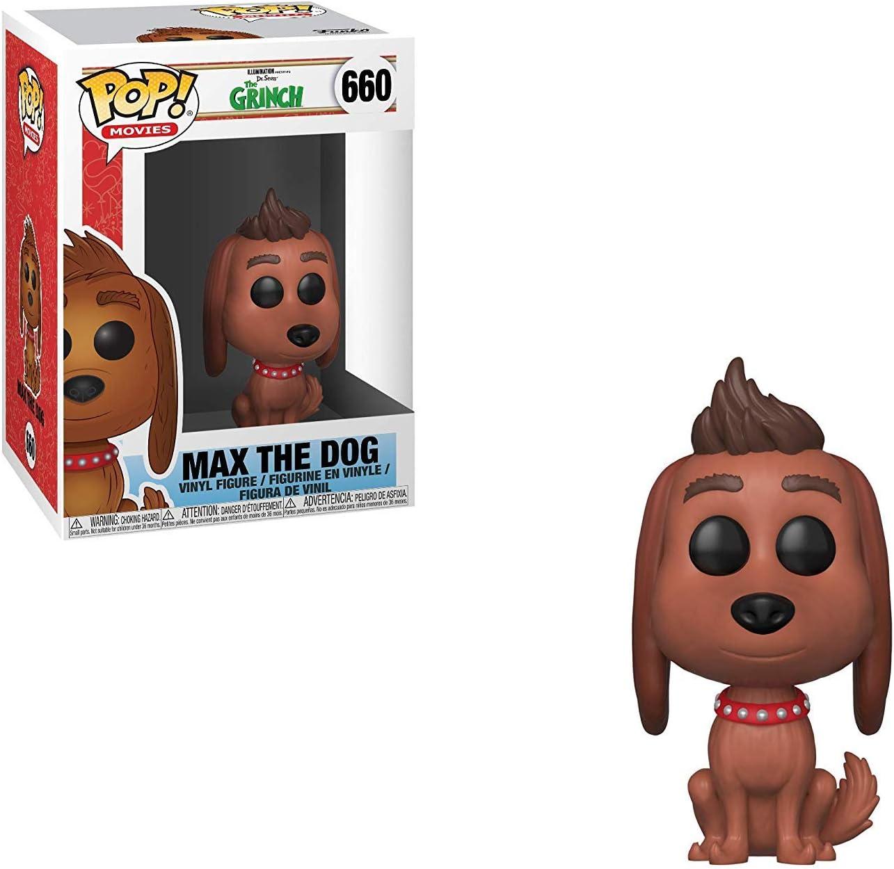 Funko Pop Animation: The Grinch Movie - Max The Dog Collectible Figure, Multicolor