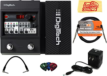 Digitech ELEMENT XP Multi-Effects Electric Guitar Pedal with Power Supply