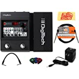 DigiTech Element XP Multi-Effects Pedal Bundle with Power Supply, Instrument Cable, Patch Cable, Picks, and Austin Bazaar Polishing Cloth