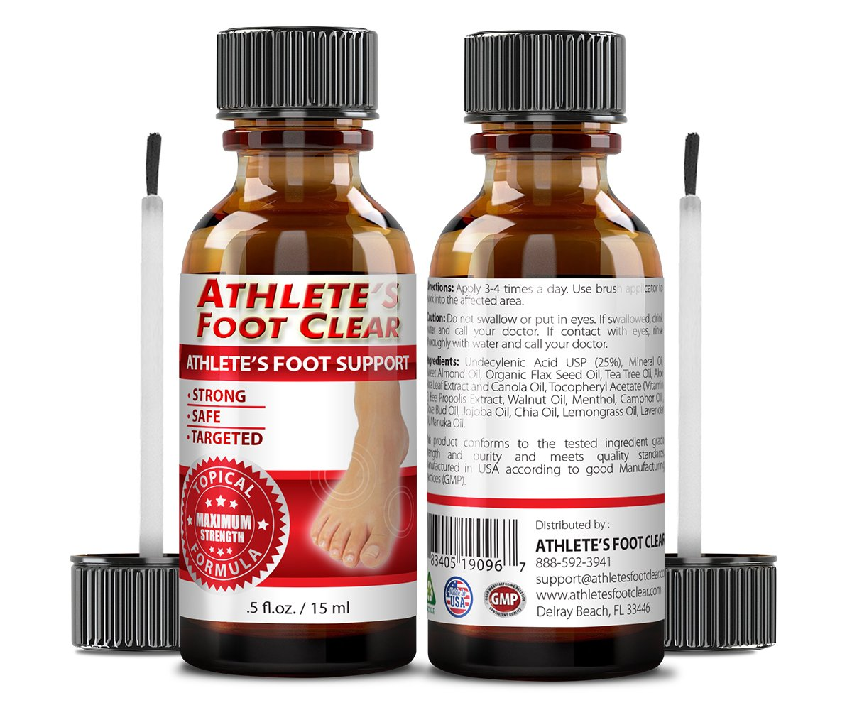 Athlete's Foot Clear - The Best Choice for Athlete's Foot Relief - 6 Bottles by Athlete's Foot Clear (Image #2)