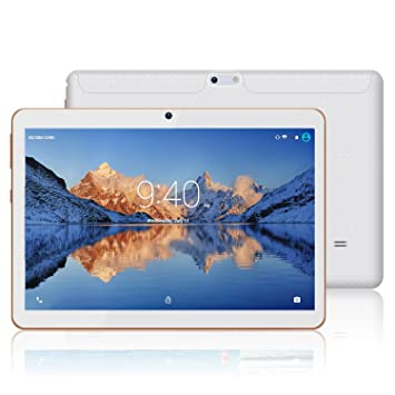 YOTOPT 10.1 Pouces Tablette Tactile - 3G/WiFi, Android 7.0 , Quad Core,