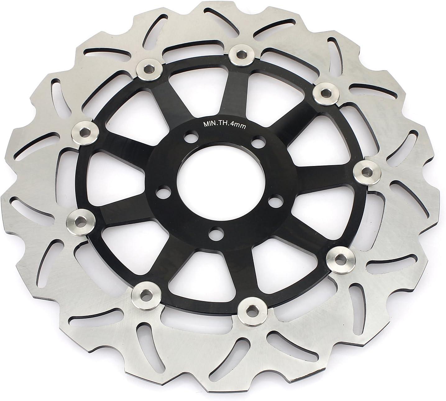 TARAZON Front and Rear Brake Rotors Discs for Kawasaki Ninja ZX12R 04 05 06 //ZX6R 1995-1997//ZR 750 Zephyr