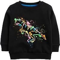 Baby Toddler Boy's Cotton Crewneck Sweatshirt Christmas Clothing 1-7Y