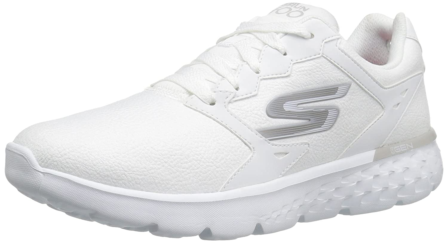 Skechers Performance Women's Go Run 400 Running Shoe B01CUOJJPA 7 B(M) US|White
