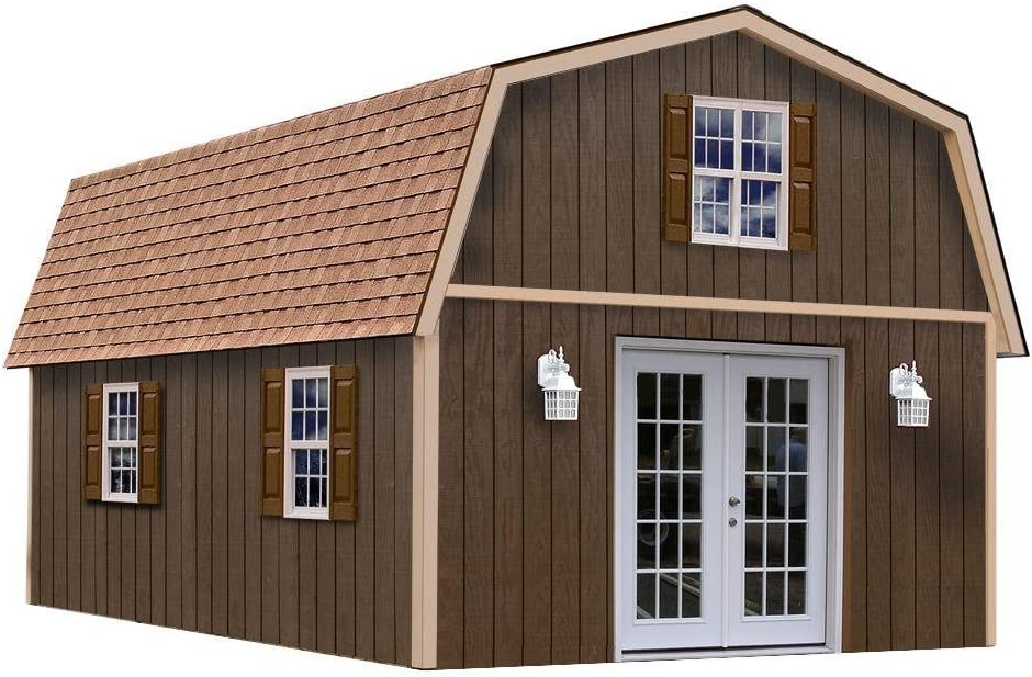 BestBarns Richmond 16' x 28' Barn Wood Shed Kit