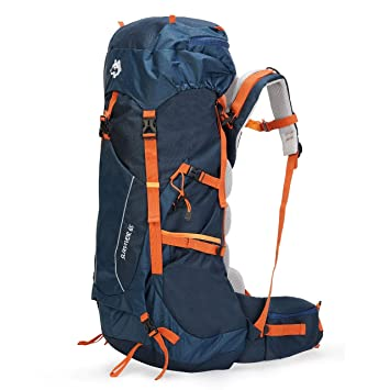 e00f0656ee00f Husky Travelpax Survivor 65L Hiking   Adventure Travel Backpack for Men    Women  Amazon.in  Bags