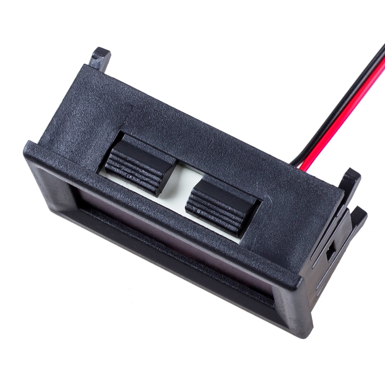 RETYLY Mini Voltmeter Tester Digital Voltage Test Battery DC 0-30V red auto car