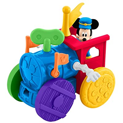 Fisher-Price Disney Mickey Mouse Clubhouse, Mouska-Maker Wind-Up Express: Toys & Games