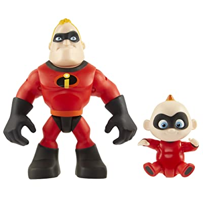 "The Incredibles 2 Mr. Incredible & Jack-Jack Junior Supers Action Figure 2-Pack, Approximately 3"" Tall: Toys & Games"