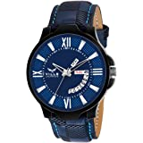 Vills Laurrens VL-1098 Blue Day and Date Series Watch for Men and Boys